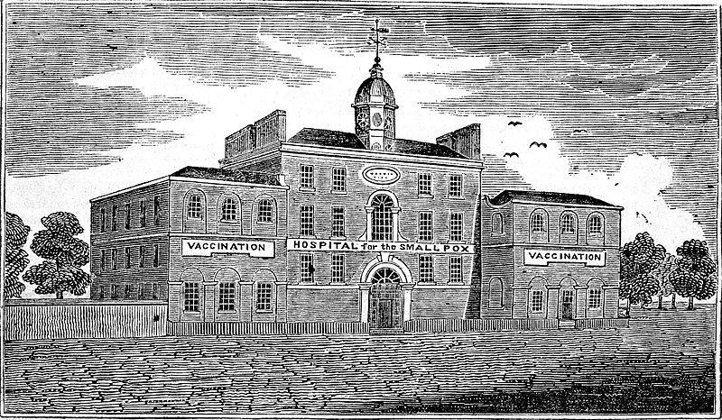 Smallpox hospital, England