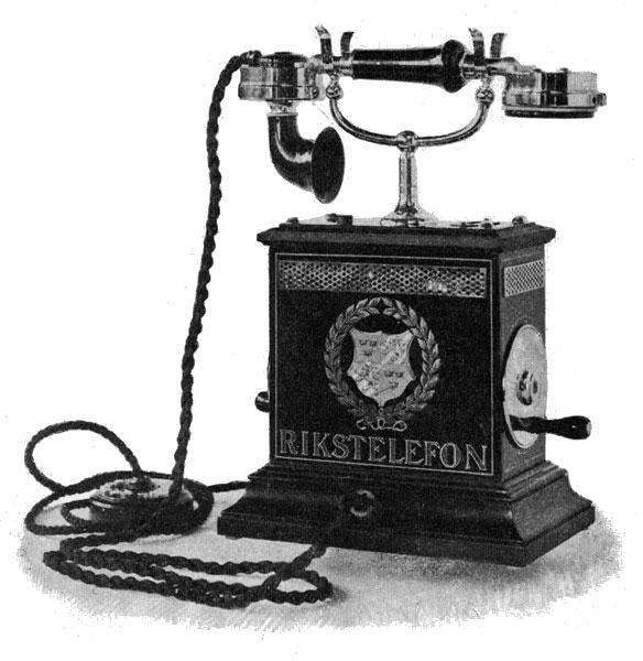 Early telephone (Sweden)